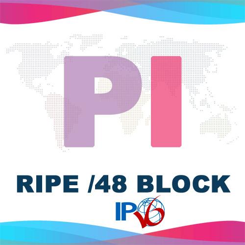 Купить блок IPv6 /48 PI RIPE